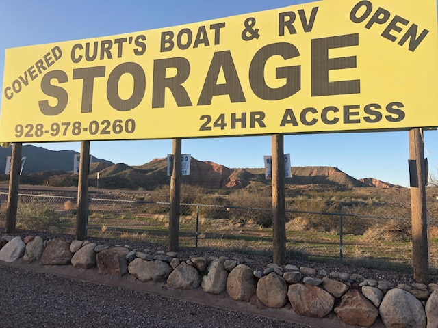 Boat & RV Storage Near Roosevelt Lake